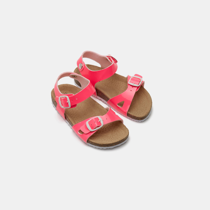 Sandales fille mini-b, Rouge, 261-5267 - 19