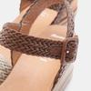 Sandales compensées bata, Blanc, 761-1947 - 16