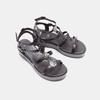 Sandales femme à plateforme bata, Noir, 661-6519 - 26