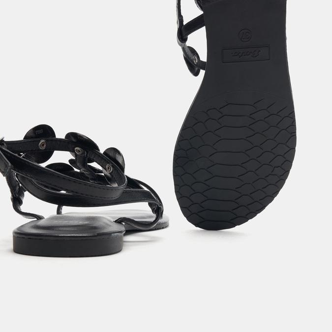 Sandales femme bata, Noir, 561-6893 - 17