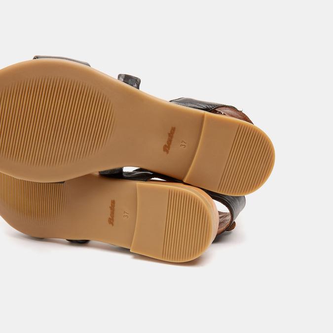 Sandales à bride bata, Noir, 564-6827 - 17