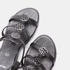 Sandales femme à plateforme bata, Noir, 661-6519 - 15