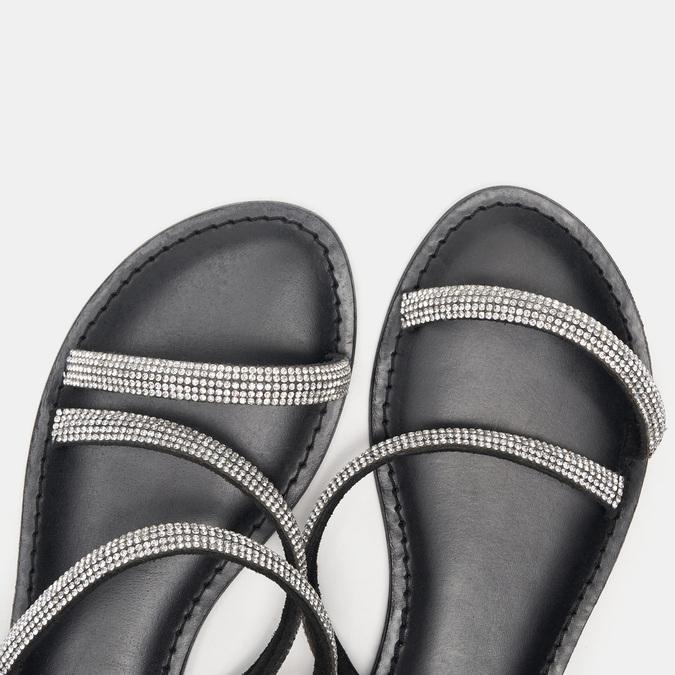 Sandales femme bata, Noir, 564-6798 - 16