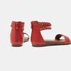 Sandales femme bata, Rouge, 561-5824 - 15