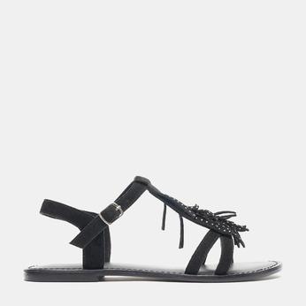 Sandales femme bata-rl, Noir, 563-6844 - 13
