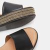 Sandales à plateforme bata, Noir, 764-6940 - 26
