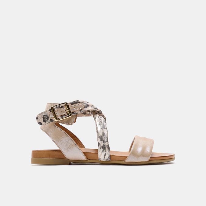 Sandales à bride bata, Beige, 564-8827 - 13