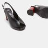Sandales à plateforme bata, Noir, 764-6971 - 19