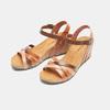 Sandales compensées weinbrenner, Brun, 764-4984 - 26