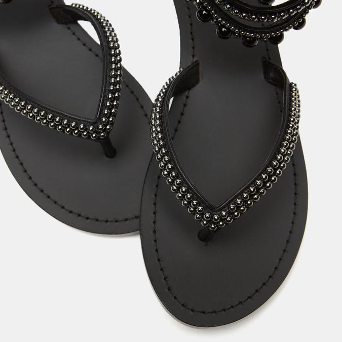 Sandales femme bata, Noir, 564-6807 - 26