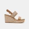 Sandales compensées bata, Beige, 769-8968 - 13