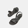 Sandales à bride bata, Noir, 564-6132 - 17