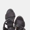 Sandales compensées bata, Noir, 761-6961 - 19
