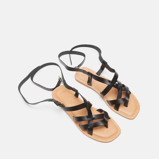 Sandales femme bata, Noir, 564-6854 - 26