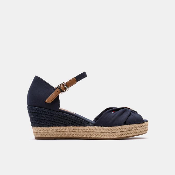 Sandales compensées tommy-hilfiger, Bleu, 669-9202 - 13