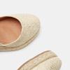 Sandales compensées bata, Or, 769-8953 - 16