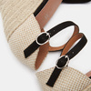 Sandales compensées bata, Noir, 769-6962 - 15
