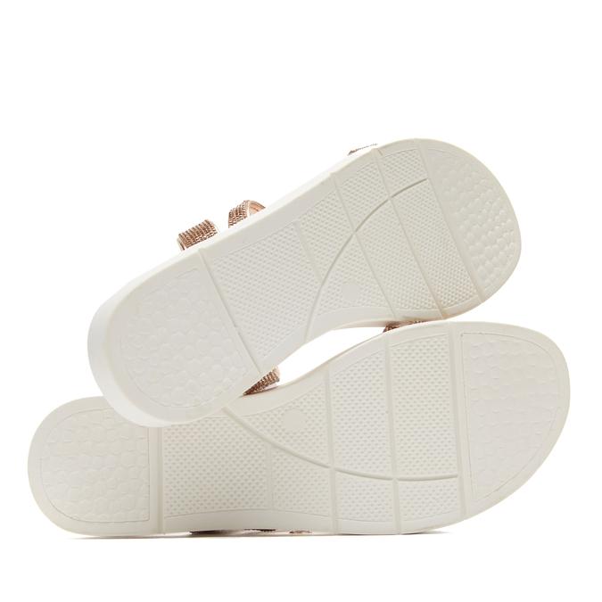 Sandales à bride bata, Rose, 571-5681 - 17