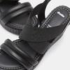 Sandales compensées bata, Noir, 761-6949 - 15