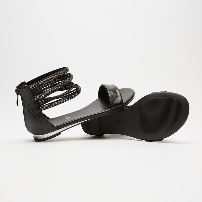 Sandales femme bata, Noir, 561-6804 - 19