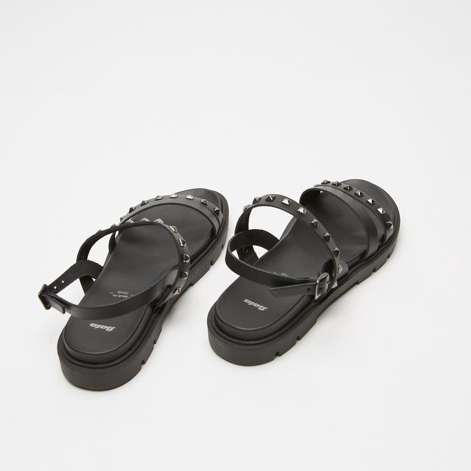 Sandales à bride bata, Noir, 564-6911 - 19