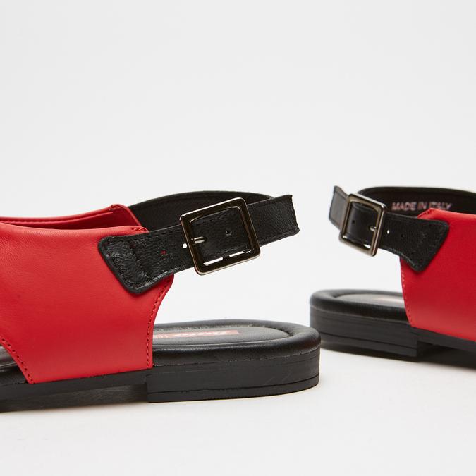 Sandales femme bata-rl, Rouge, 564-5846 - 15