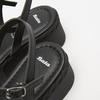 Sandales à plateforme bata, Noir, 761-6240 - 15