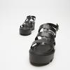 Sandales à plateforme bata, Noir, 764-6130 - 16
