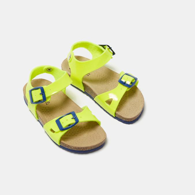 Sandales garçon mini-b, Jaune, 261-8265 - 16