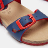 Sandales garçon mini-b, Bleu, 261-9433 - 26