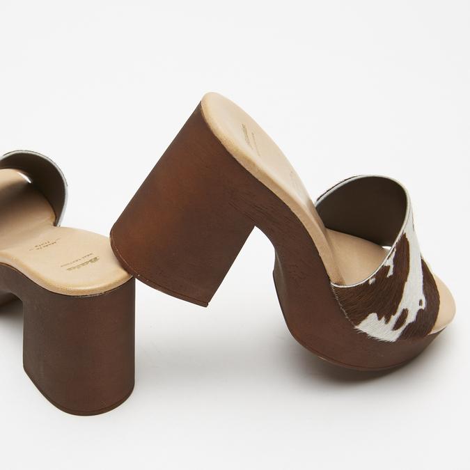 Sandales à plateforme bata, Brun, 764-4177 - 17