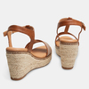 Sandales compensées bata, Jaune, 769-8916 - 15