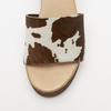 Sandales à plateforme bata, Brun, 764-4177 - 26