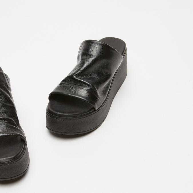 Sandales à plateforme bata, Noir, 764-6965 - 26