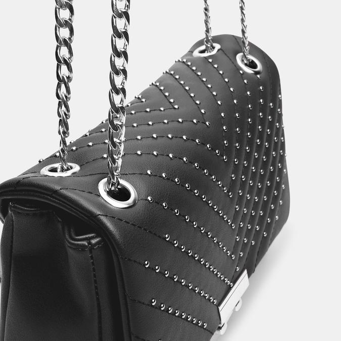 sac à bandoulière clouté bata, Noir, 961-6190 - 26