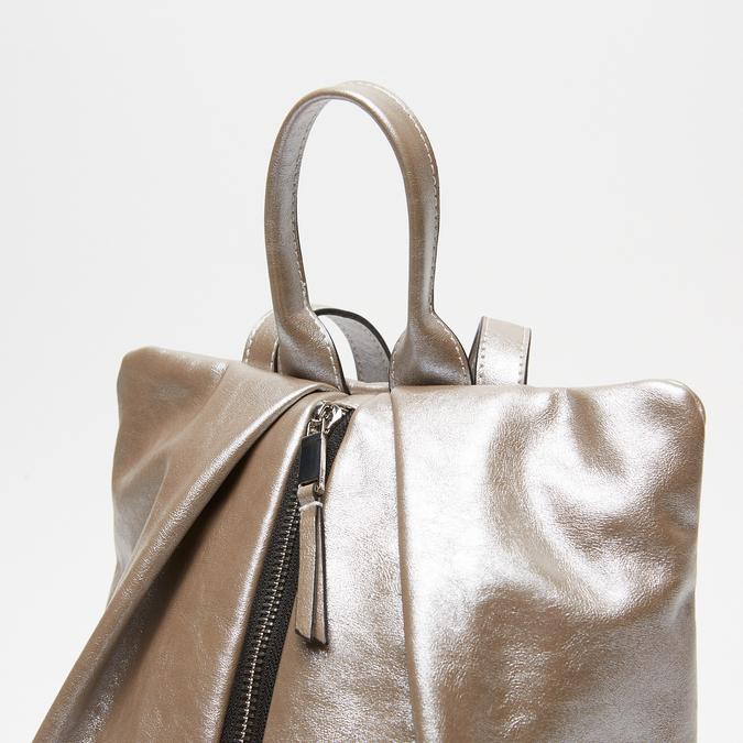 sac à dos à fermeture éclair femme bata, Gris, 961-2311 - 26