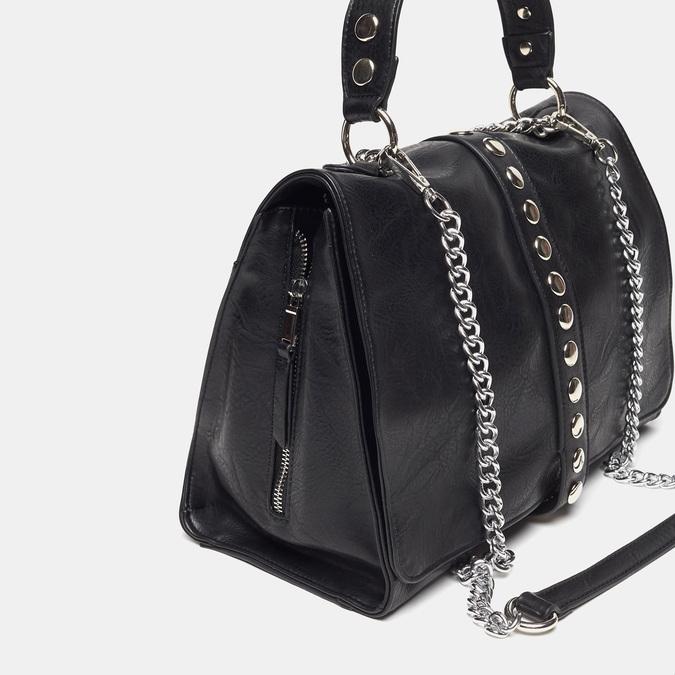 sac à main clouté à chaînette bata, Noir, 961-6247 - 26