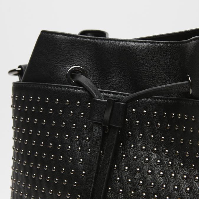 sac bucket clouté bata, Noir, 961-6338 - 16