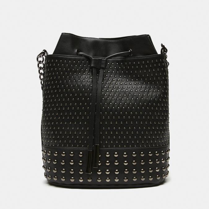sac bucket clouté bata, Noir, 961-6338 - 13