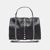 sac à main clouté à chaînette bata, Noir, 961-6247 - 13