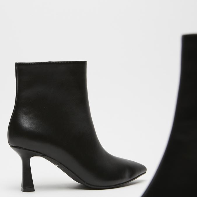 bottines pointues à effet mat bata, Noir, 791-6754 - 15