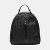 sac à dos en cuir éco matelassé bata, Noir, 961-6807 - 13