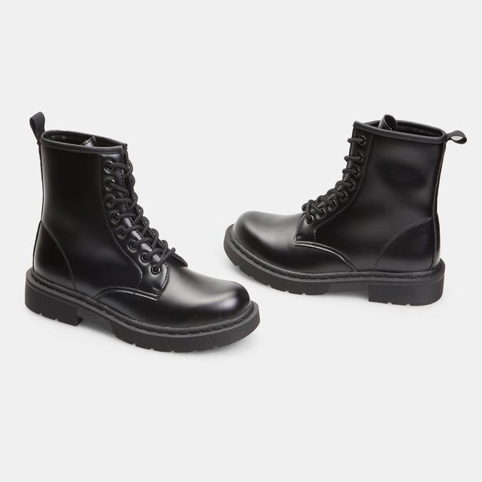 bottines à semelles style track femme bata, Noir, 591-6506 - 26