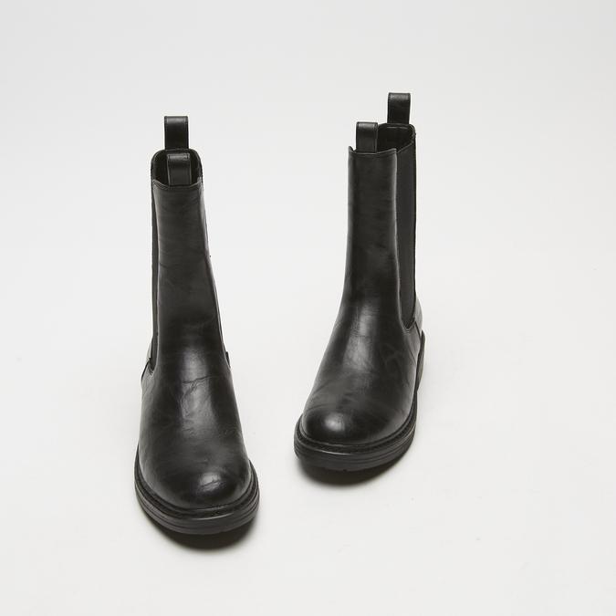 bottes chelsea femme bata, Noir, 591-6473 - 26