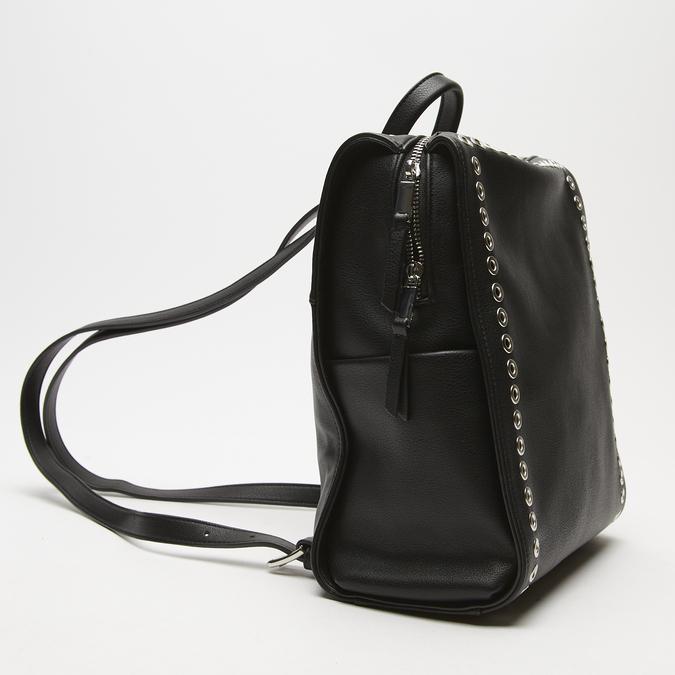 sac à dos clouté femme bata, Noir, 961-6328 - 26