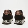 baskets avec imprimé animalier bata, Noir, 549-6846 - 17