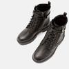 bottines à semelle track et fermeture éclair mini-b, Noir, 391-6288 - 19