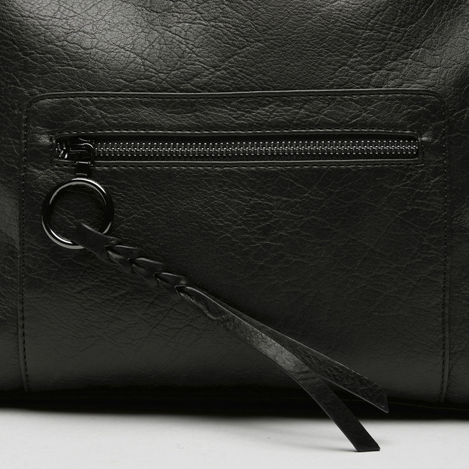 sac à dos à détails cloutés femme bata, Noir, 961-6370 - 16