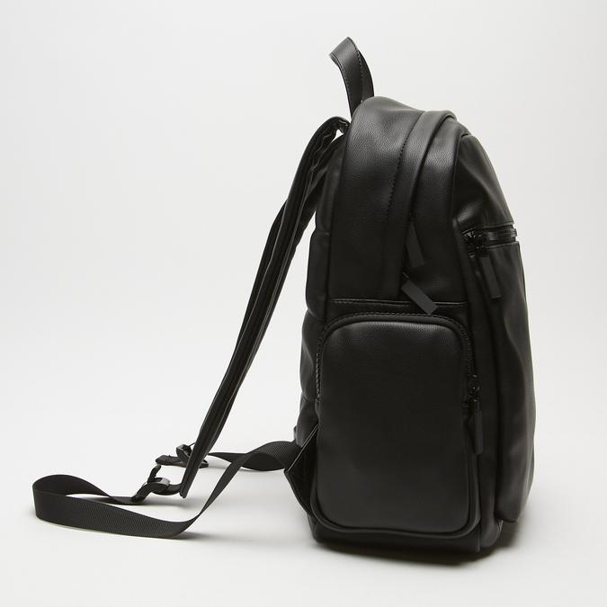 sac à dos à poches latérales bata, Noir, 961-6488 - 26