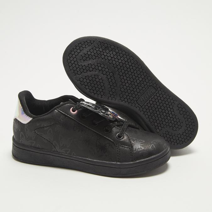 baskets plates fille bata, Noir, 311-6365 - 19